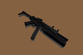 HK MP5 with collimator